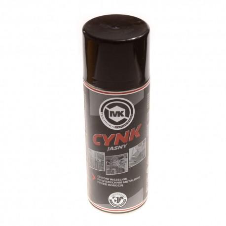 Cynk jasny w sprayu farba cynkowa 400ml