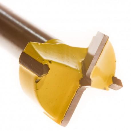 Frez do drewna pod zawias puszkowy z widią 25mm